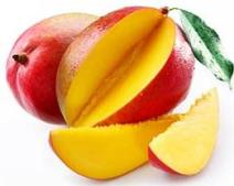 Ripe mango is high in phytonutrients and vitamins.